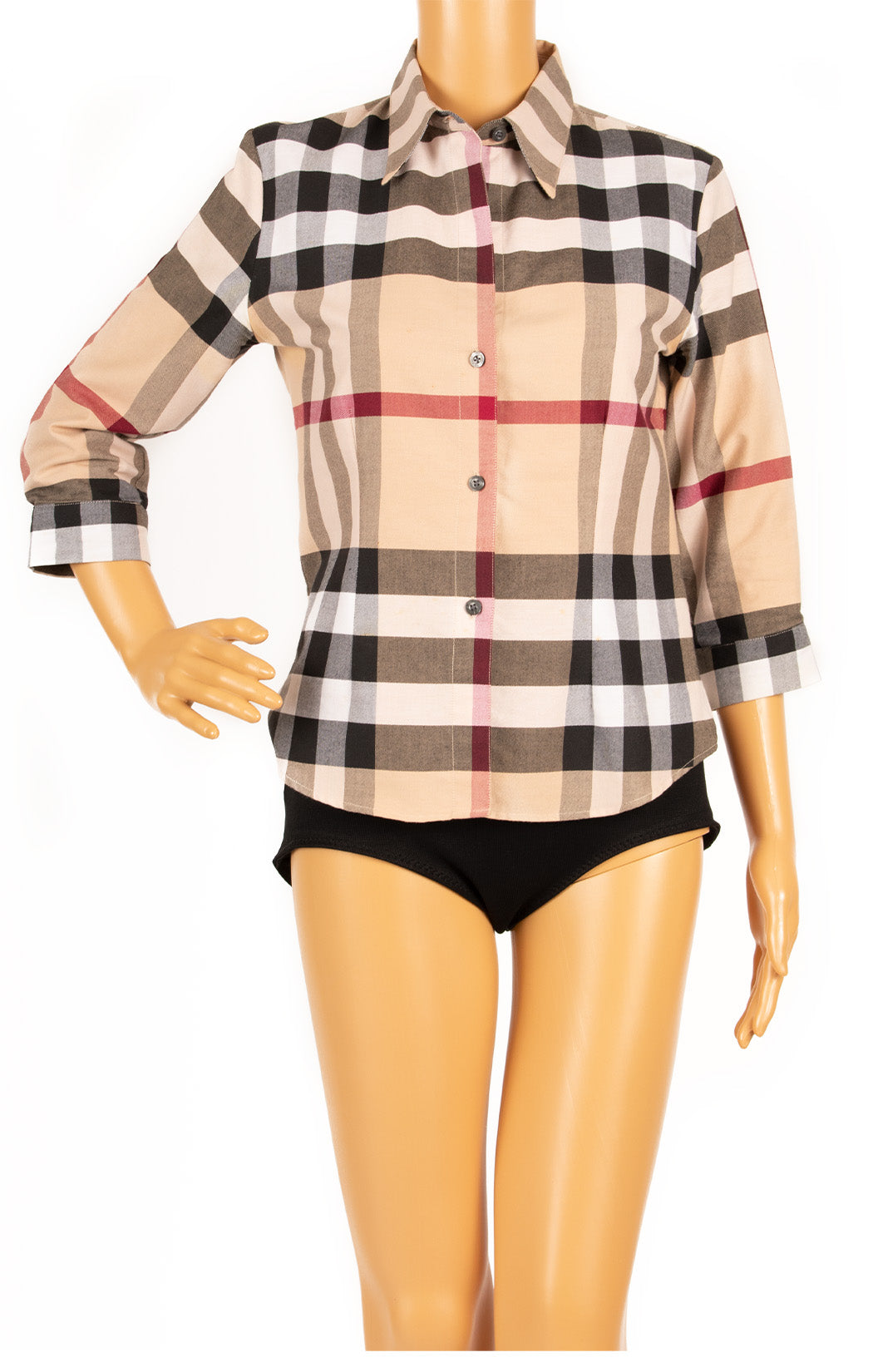 Front view of BURBERRY Shirt Size: 4