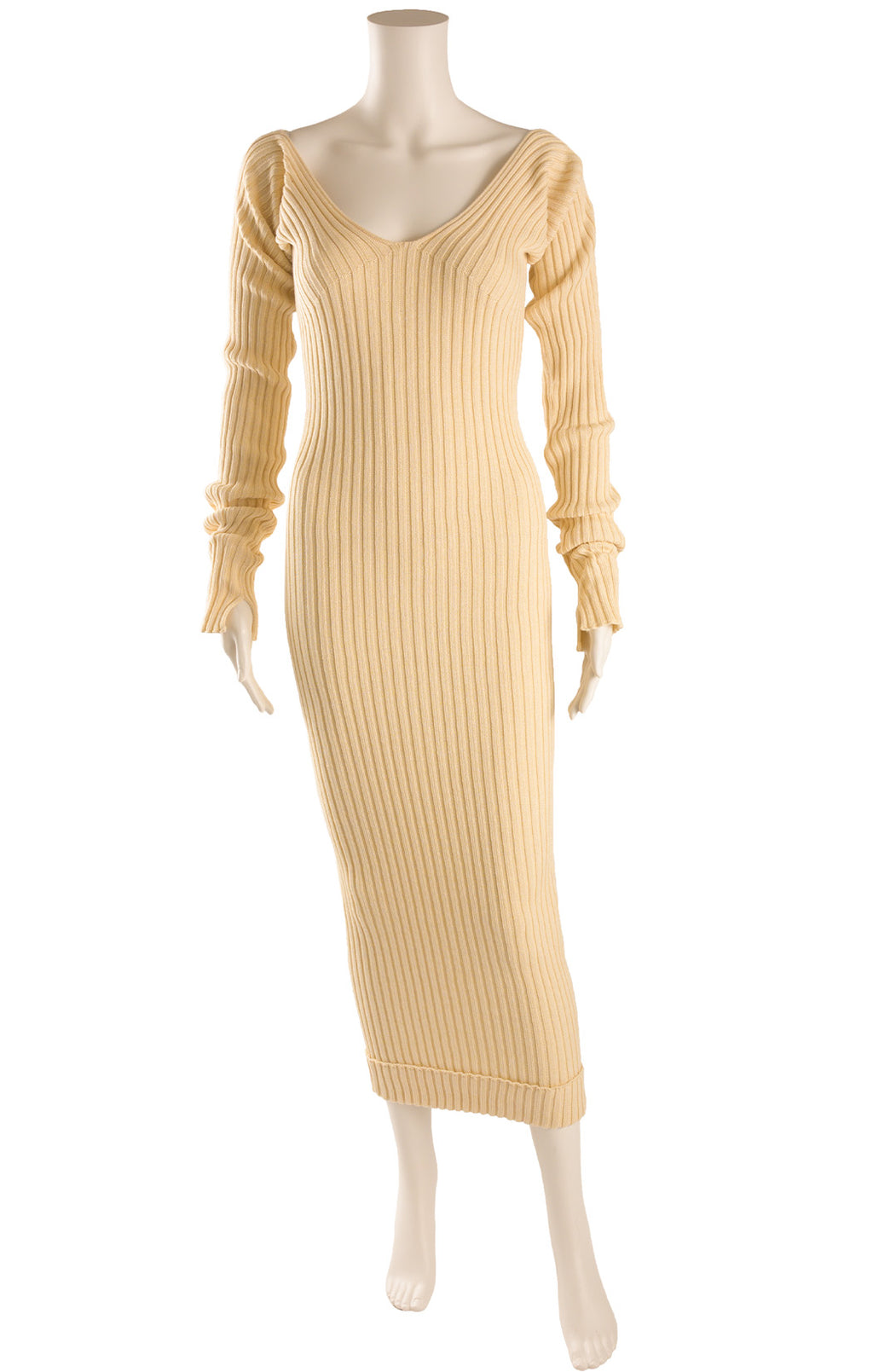 Front view of CELINE Sweater dress Size: Medium