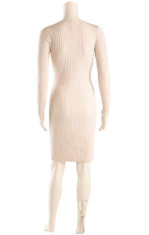 Back view of WOLFORD Sweater dress