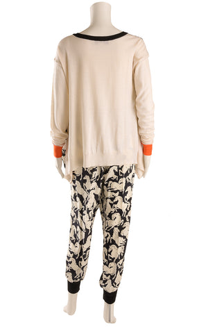 Back view of STELLA MCCARTNEY  Top and pant