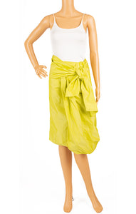 Front view of PAUX Skirt Size: 2 (wrap around so can vary to size 4)