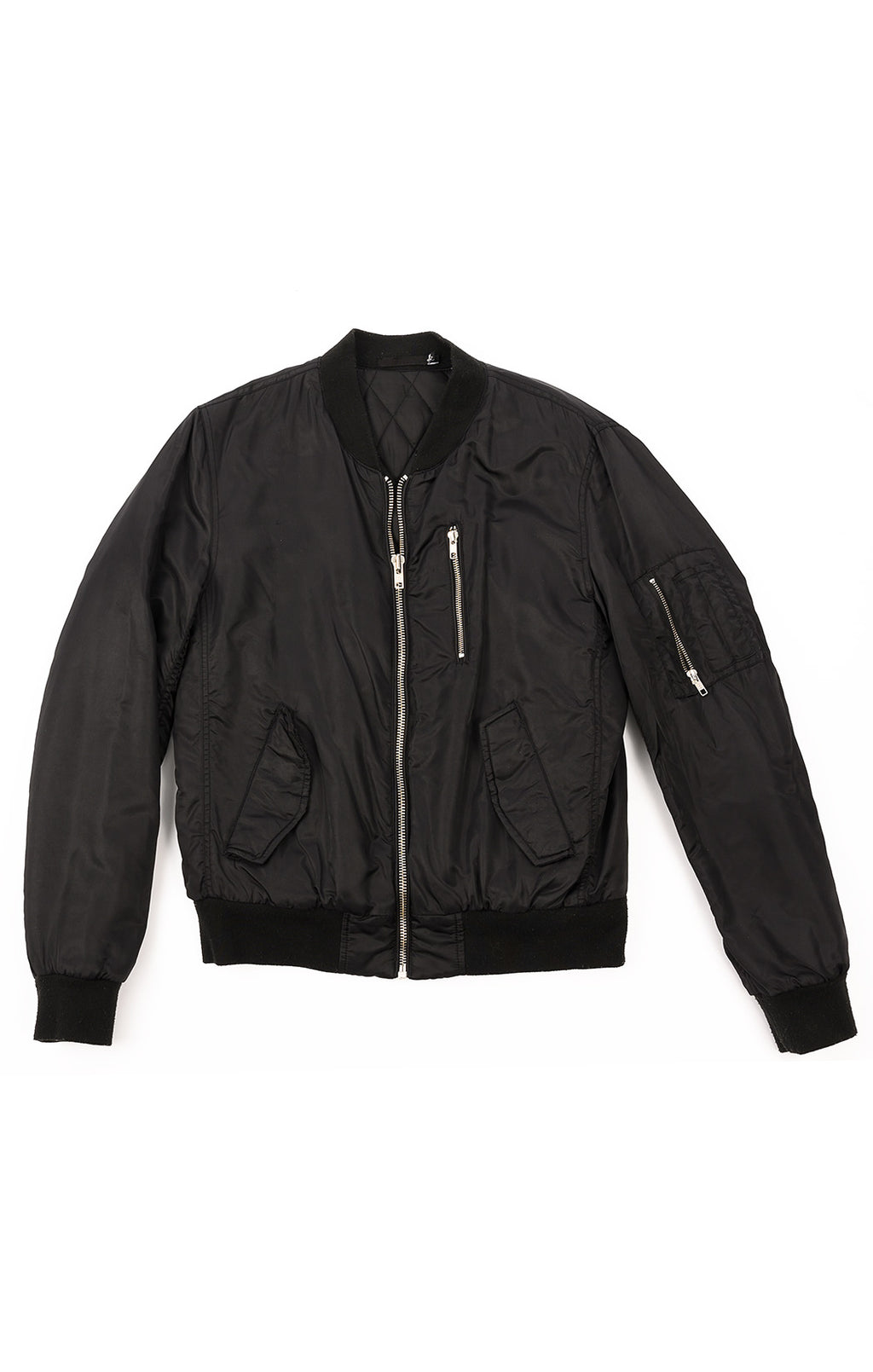 Front view of BLK DNM Jacket Size: Medium
