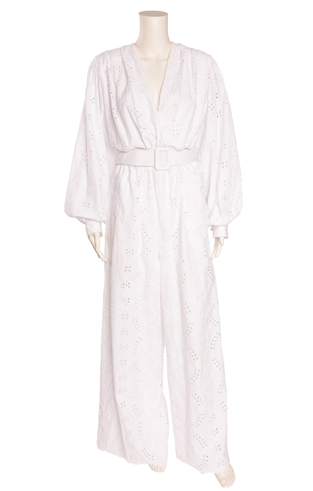 Front view of OFF WHITE by VIRGIL ABLOH Jumpsuit  Size: FR 42 (comparable to US 10)
