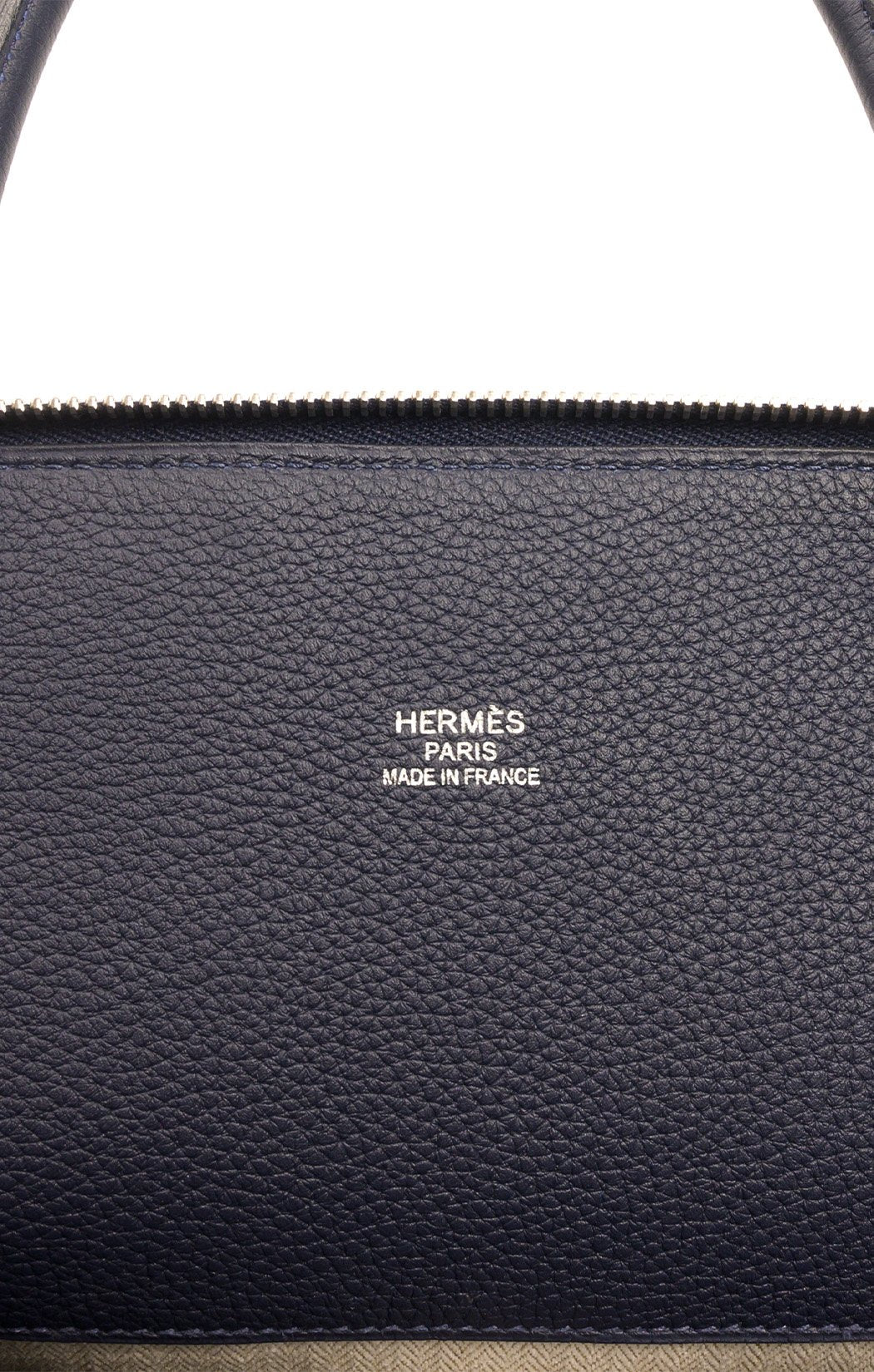 Closeup view of HERMES (SHARK BOLIDE) Handbag