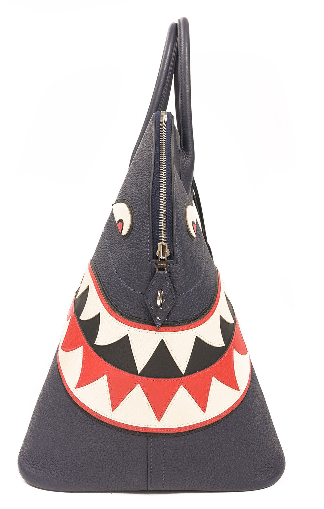 Side view of HERMES (SHARK BOLIDE) Handbag