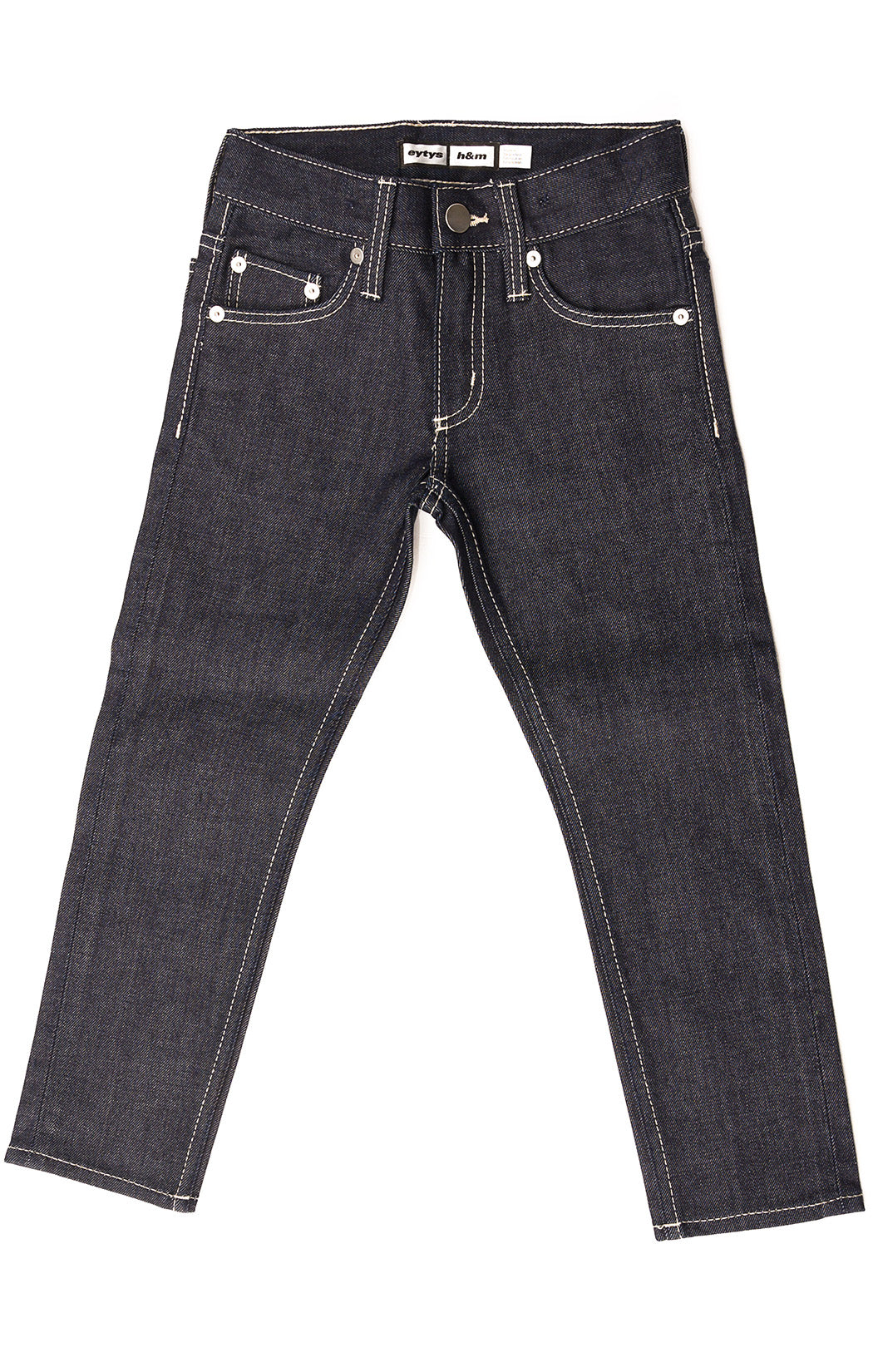 Front view of H & M Jeans Size: no tags fits like 5-6 long
