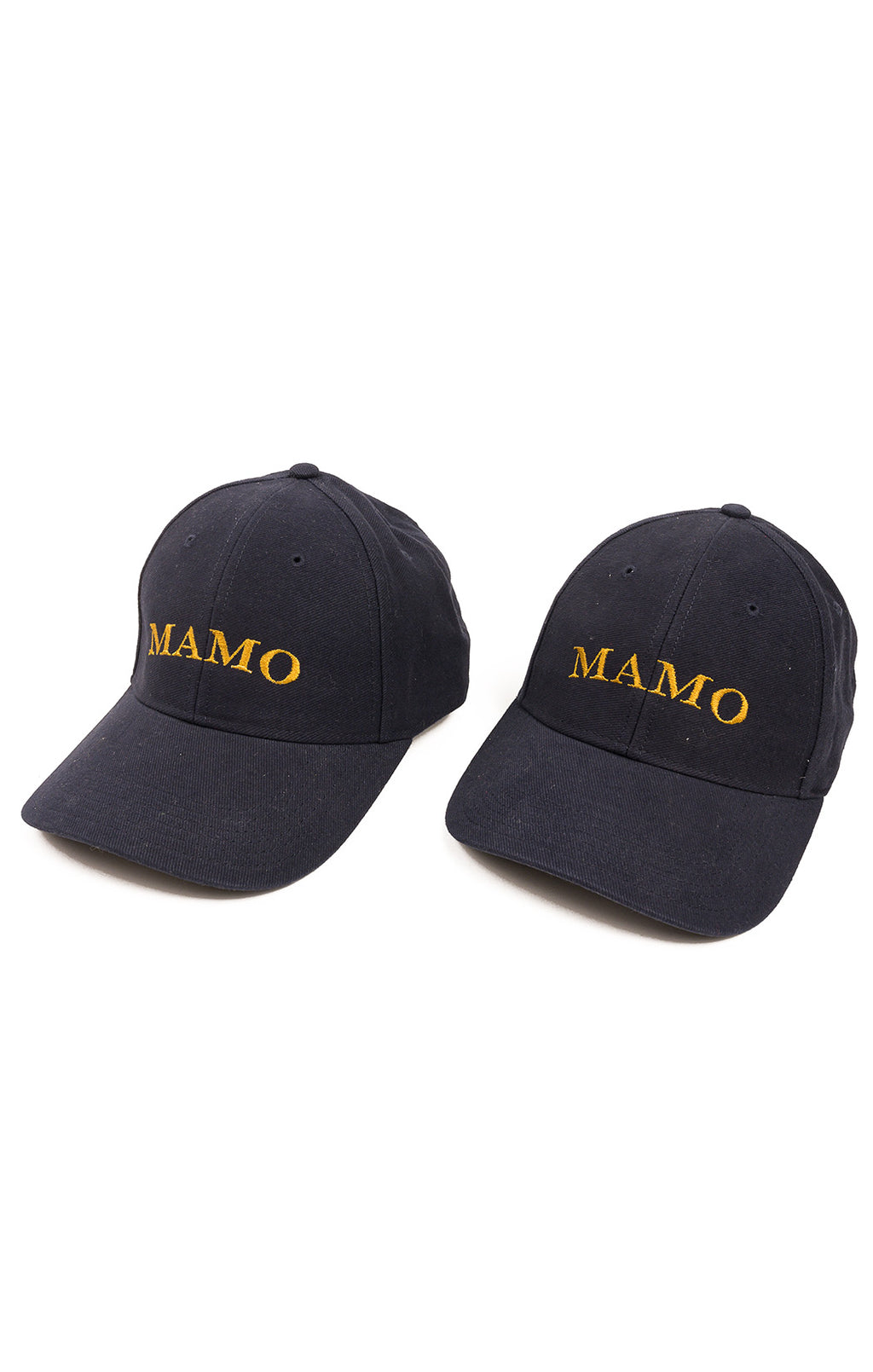 Front view of MAMO Baseball hat Size: O/S