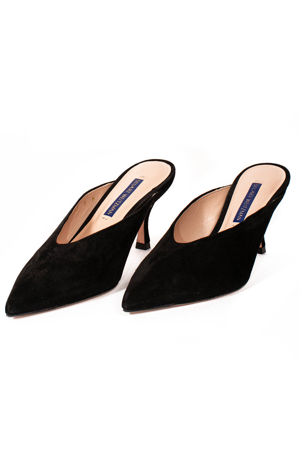 Front view of STUART WEITZMAN Mule Size: 5