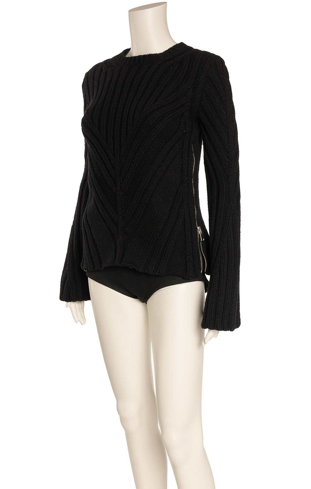 Front view of ALEXANDER MCQUEEN Sweater  Size: Small