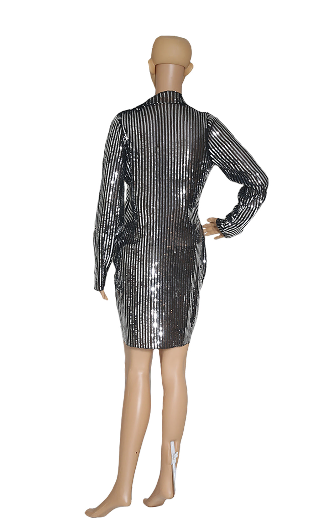 Back view of TANYA TAYLOR  Sequined Dress No Tags