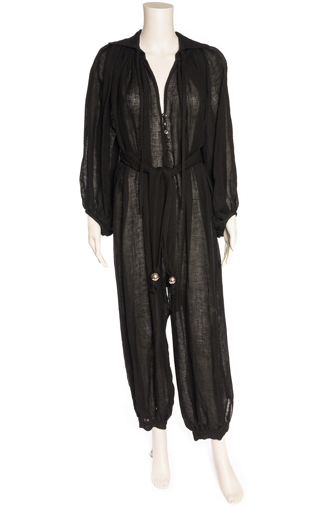 Front view of LISA MARIE FERNANDEZ with tags Jumpsuit  Size: Medium