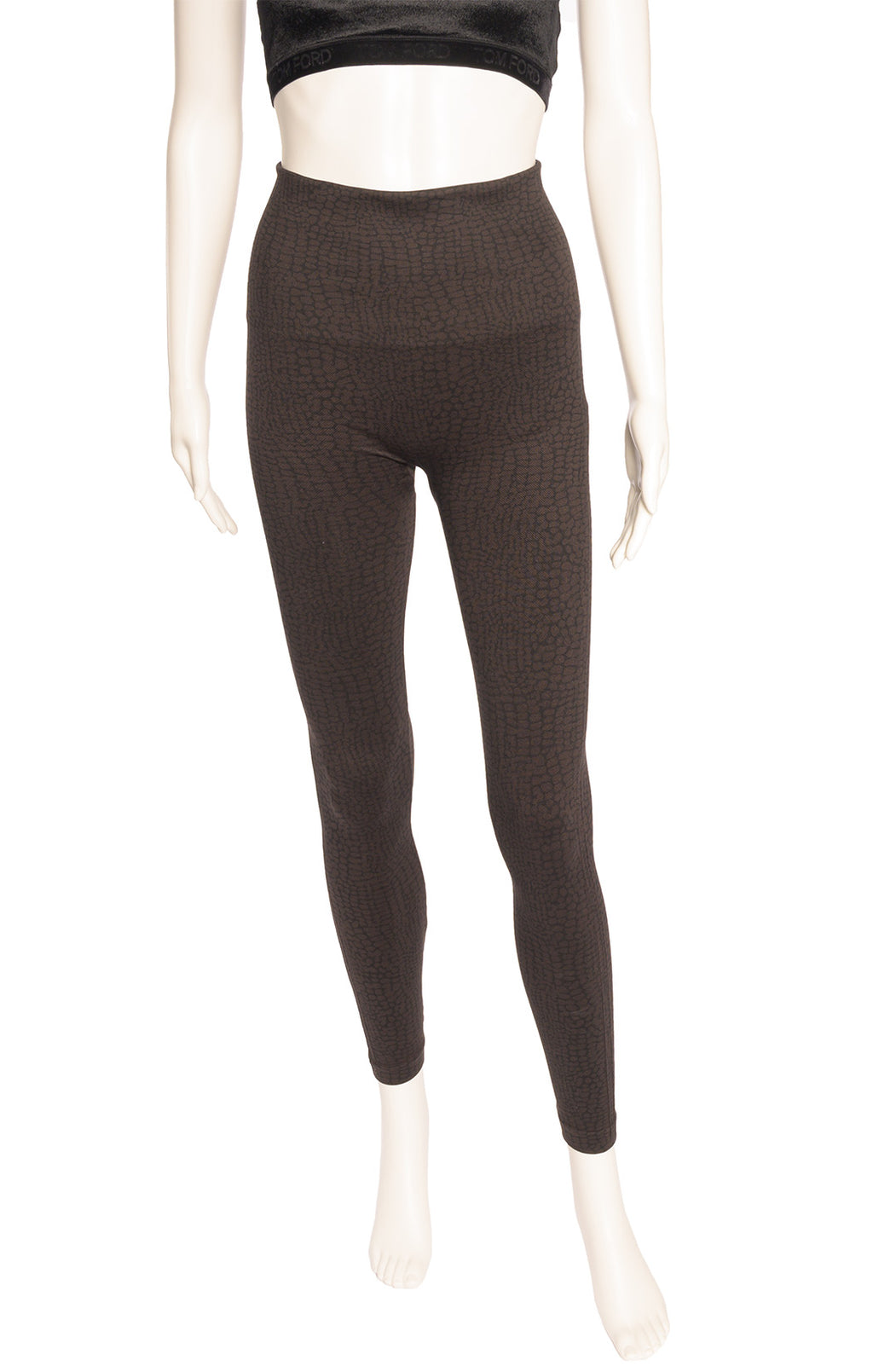 Front view of SPANX Leggings Size: Medium
