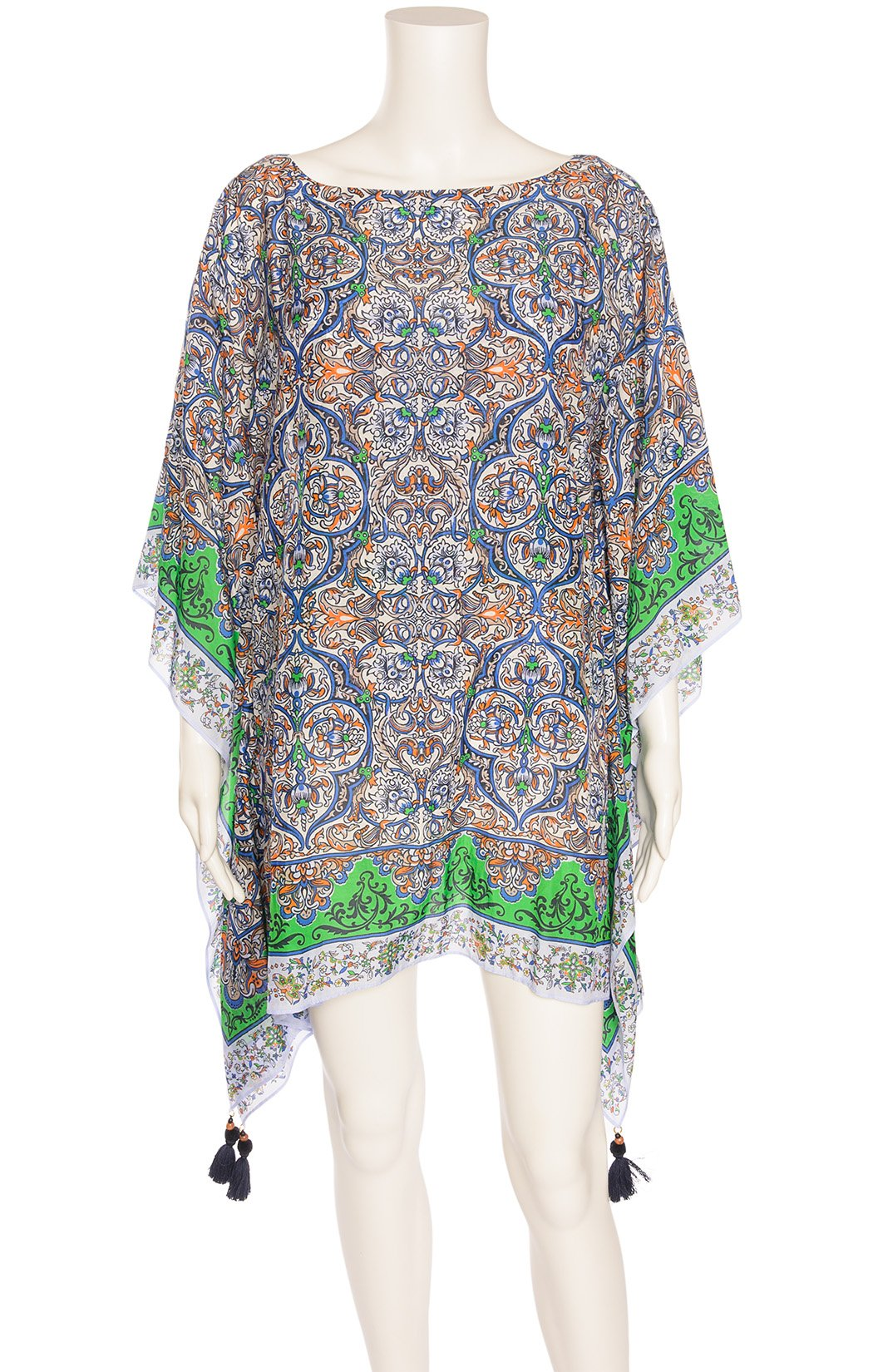 Front view of TORY BURCH with tags cover up Size: M/L