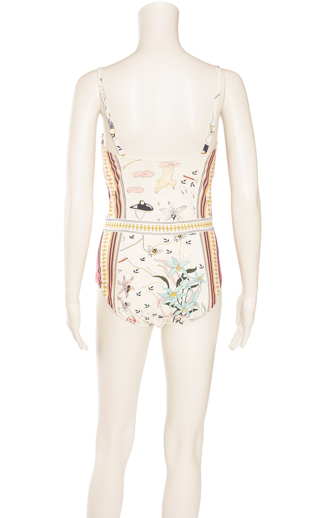 Back view of TORY BURCH with tags Bathing suit