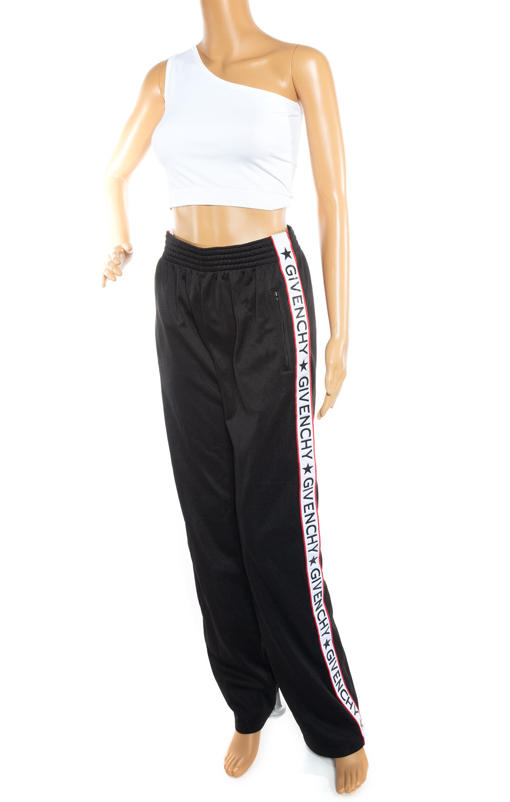 Front view of GIVENCHY Track pant Size: FR 38 (comparable to US 6)