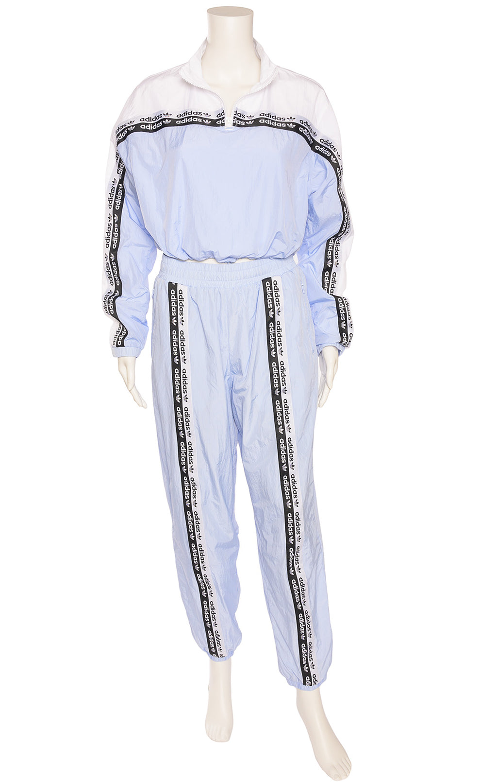 Front view of ADIDAS with tags Track suit Size: Medium