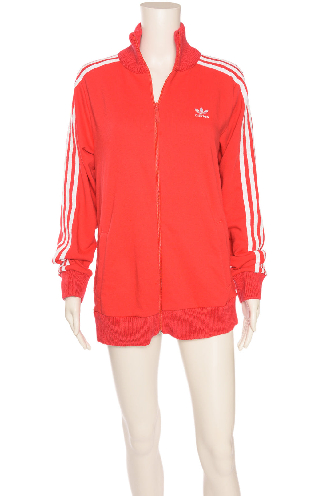 Front view of ADIDAS  Track jacket Size: Medium