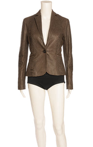Front view of CELINE Jacket/blazer Size: FR 34 (comparable to US 2)