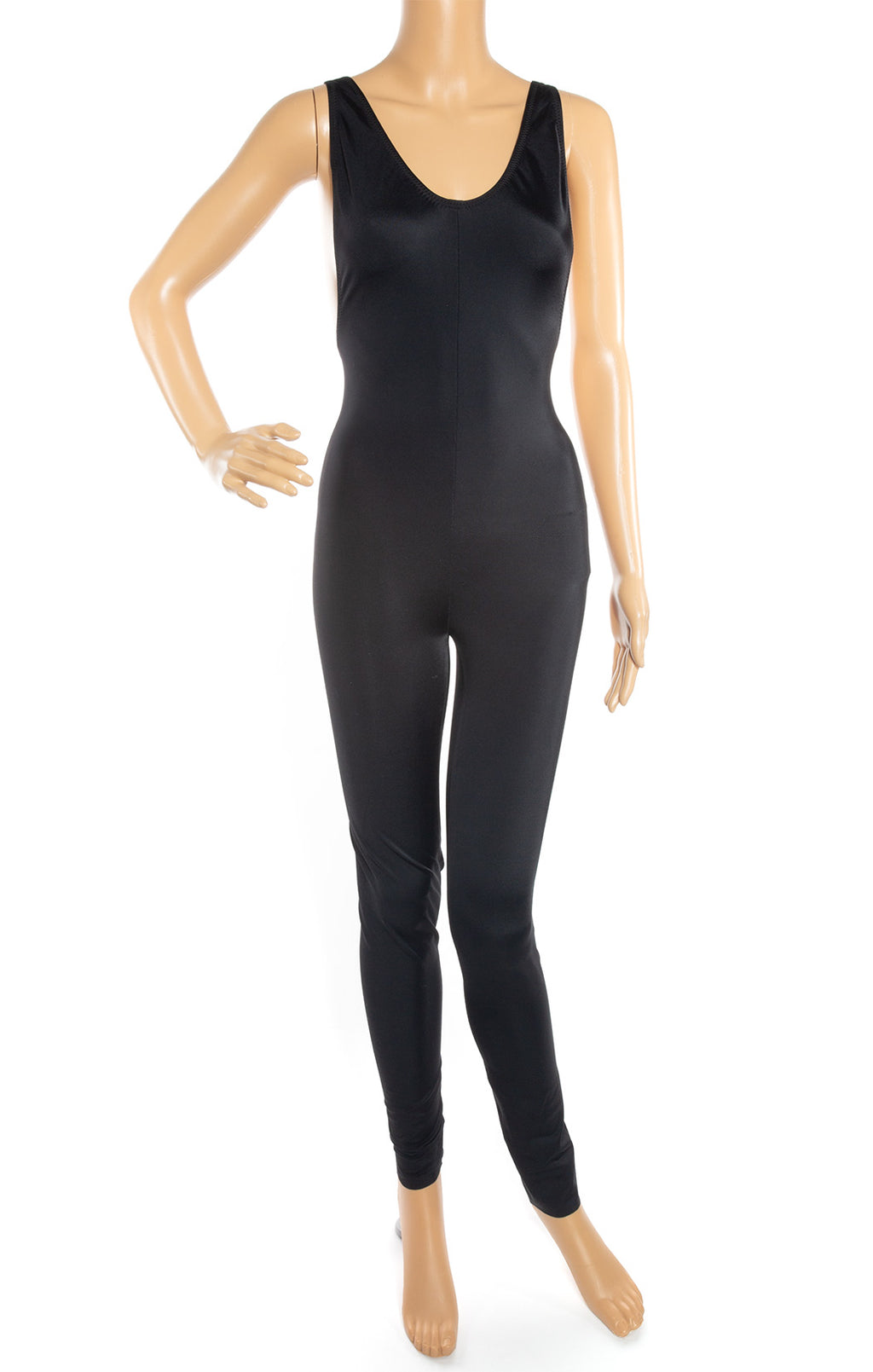 Front view of NORMA KAMALI w/tags Unitard Size: Medium