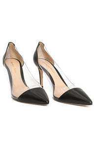 Front view of GIANVITO ROSSI  Pump Size: 38.5/8.5