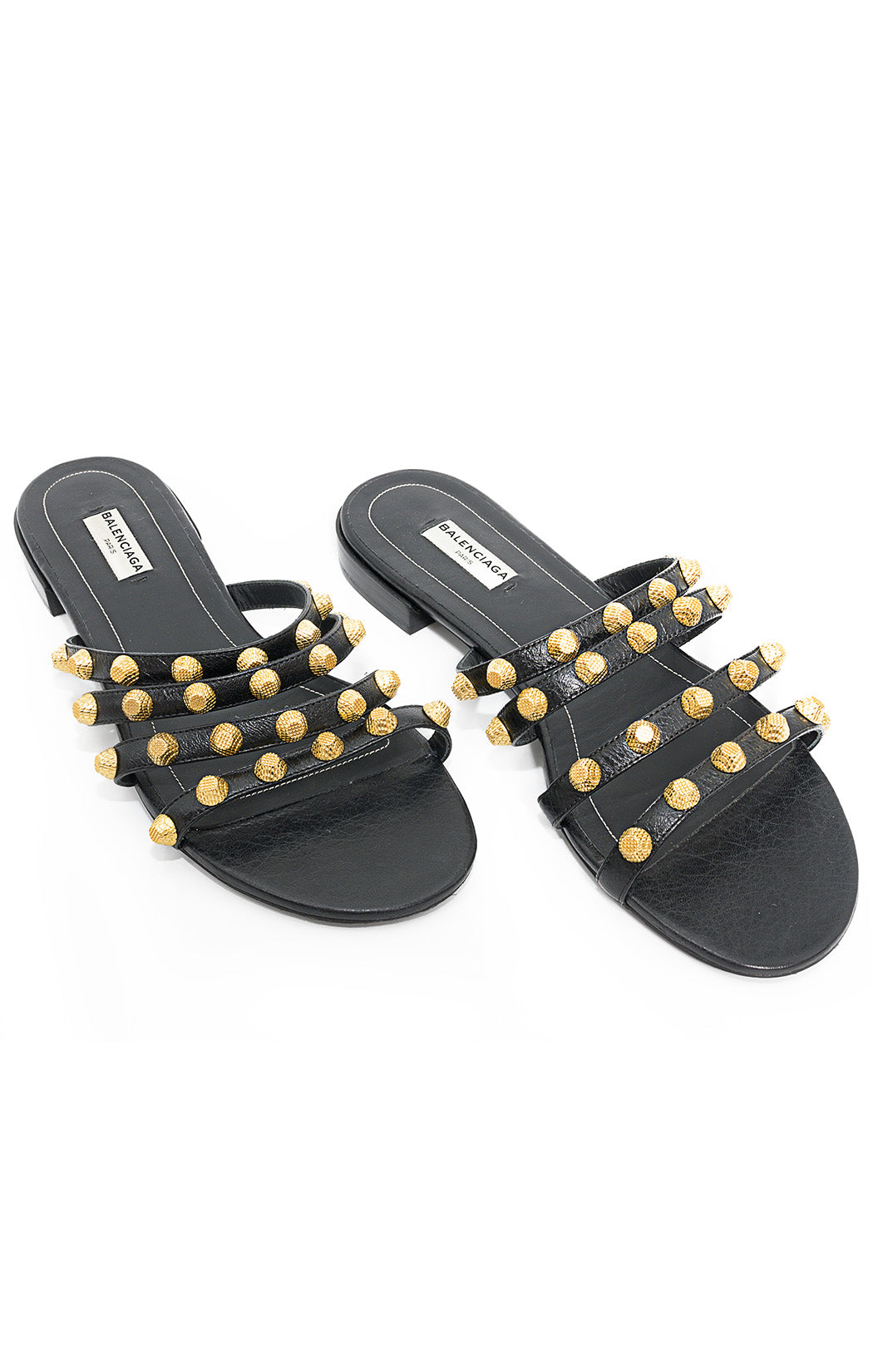 Front view of BALENCIAGA Sandals Size: 38.5/8.5
