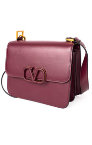 "Front view of VALENTINO Purse Size: 8.5"" L x 7"" W x 4.5"" D"
