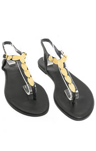 Front view of MAKIS KOTRIS Sandals Size: 39/9