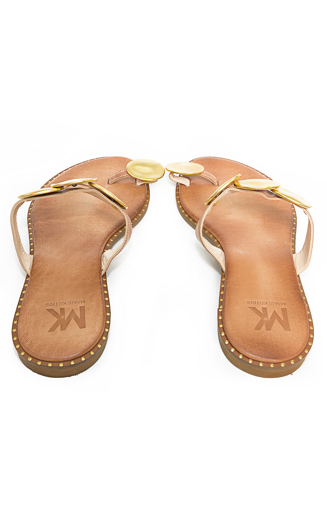 Back view of MAKIS KOTRIS Sandals
