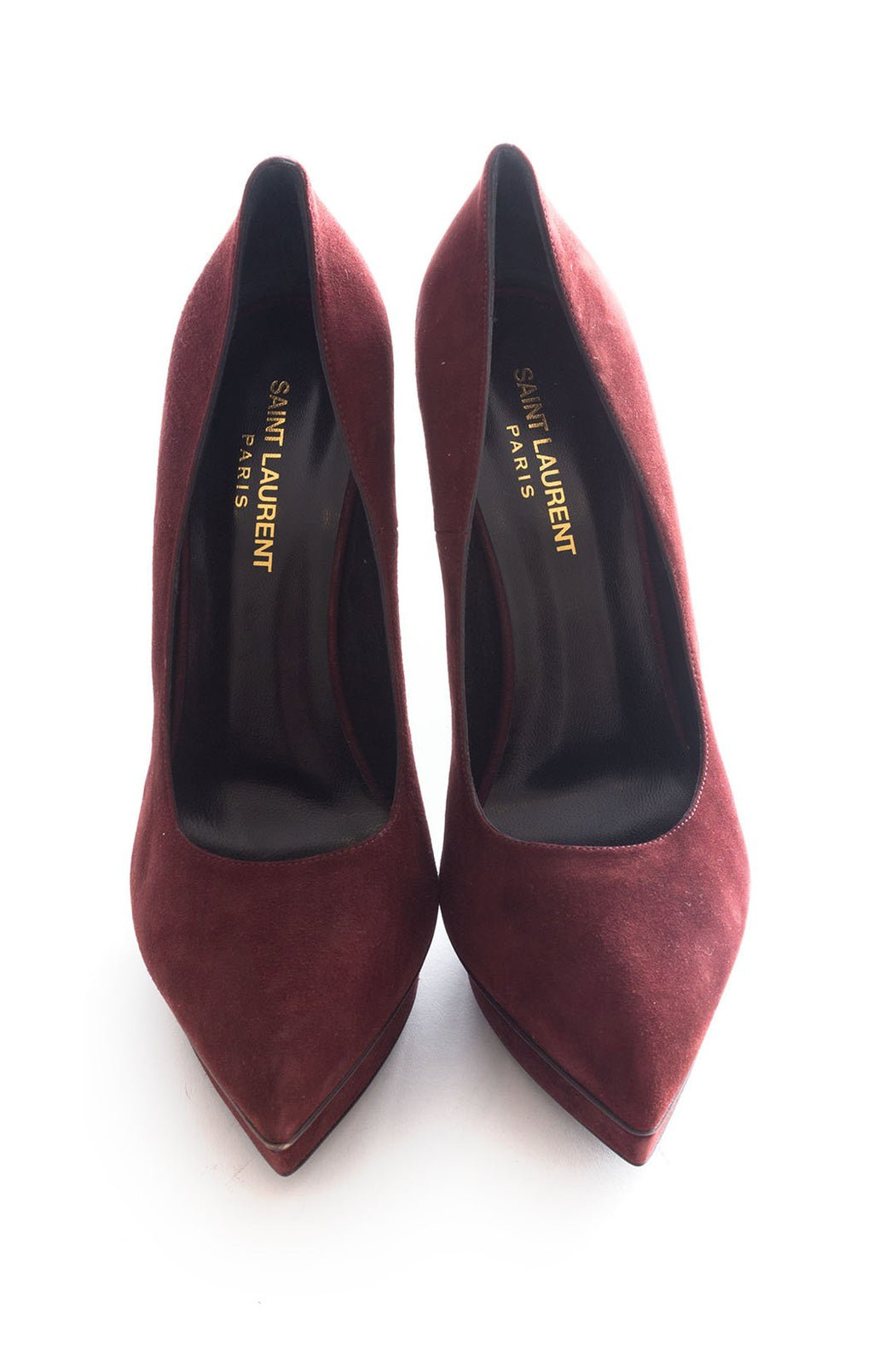 Front view of SAINT LAURENT Pumps Size: 9