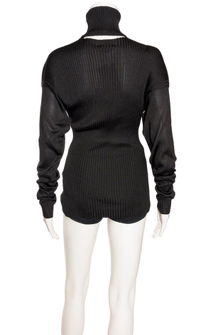 Back view of BOTTEGA VENETA with tags Sweater Size: IT 42 (comparable to US 6)
