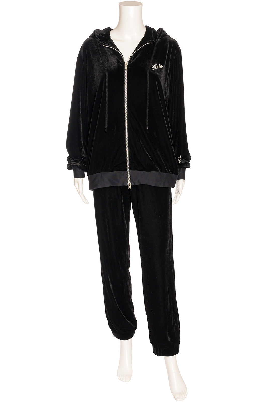Front view of DANIELLE GUIZIO with tags  Track suit Size: no size tags fits like small-medium