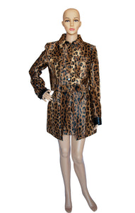 Front view of PHILOSOPHY DI LORENZO SERAFINI Matching Jacket and Skirt Jacket Size: IT 44 (US 8)