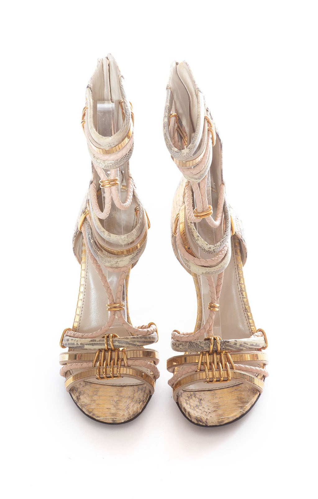 Front view of SERGIO ROSSI Sandal Size: 9