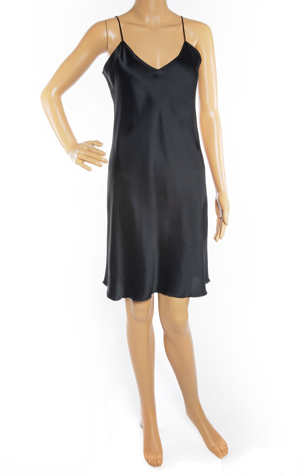 Front view of NILI LOTAN Slip Dress