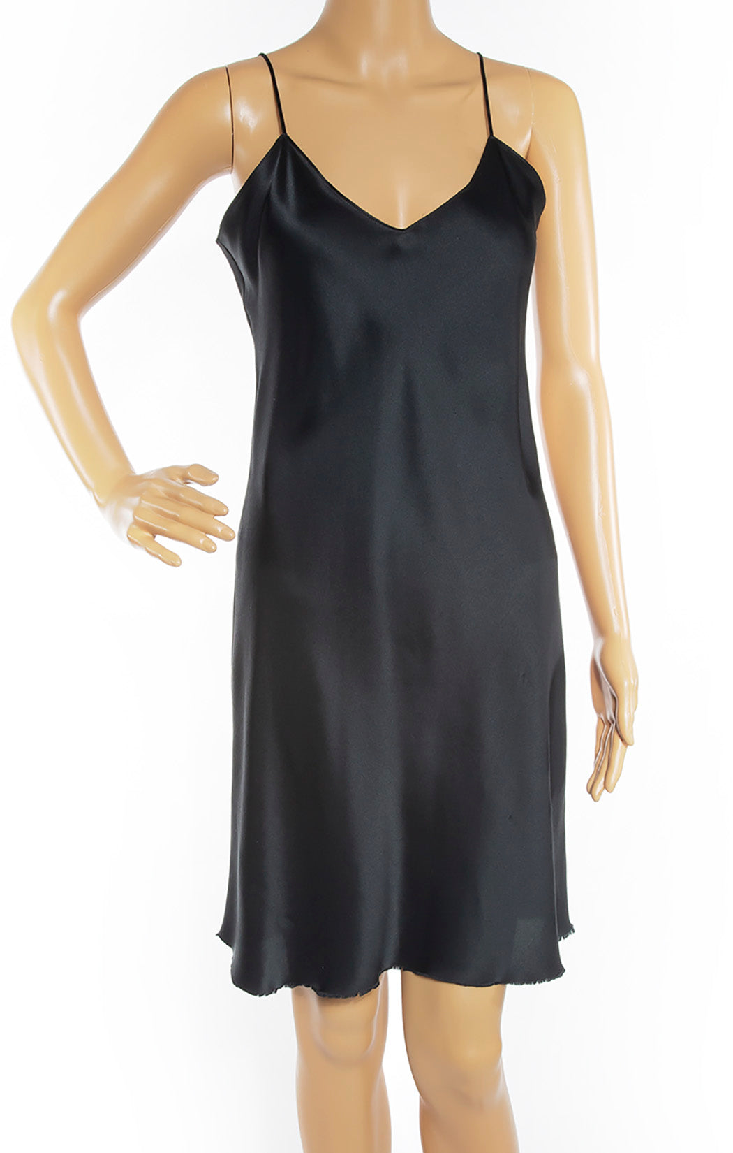 Closeup view of NILI LOTAN Slip Dress Size: Small