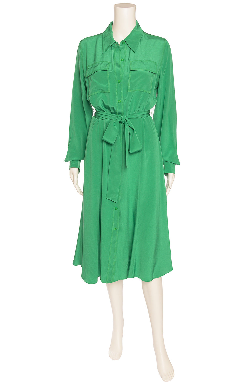 Front view of DIANE VON FURSTENBERG with tags Dress Size: Medium