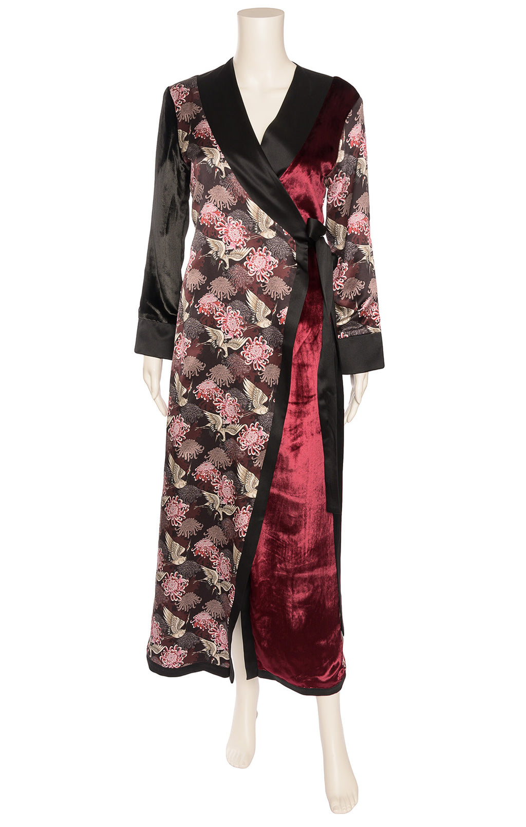Front view of CHARLENE TANG Robe/Coat Size: No size tags fits like Small