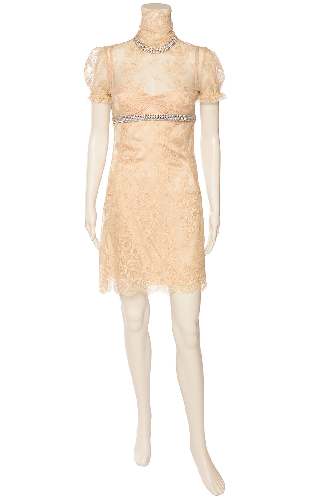 Front view of DOLCE & GABBANA Dress Size: No size tags fits like small
