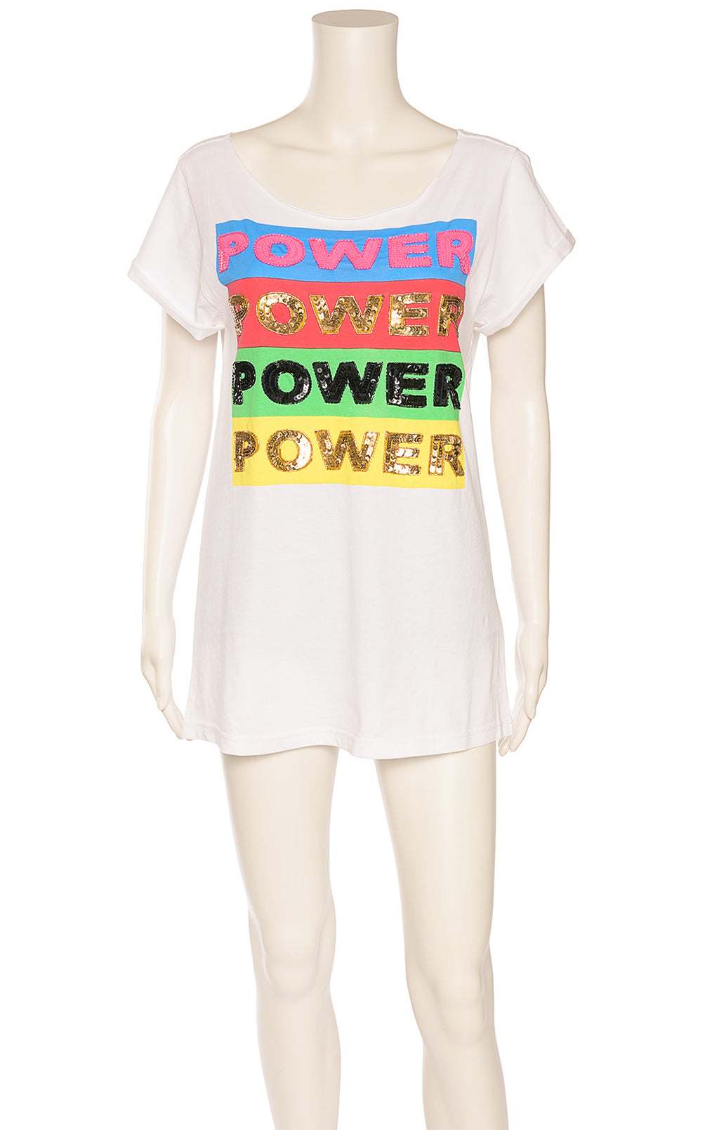 Front view of ALICE + OLIVIA with tags T shirt Size: Large