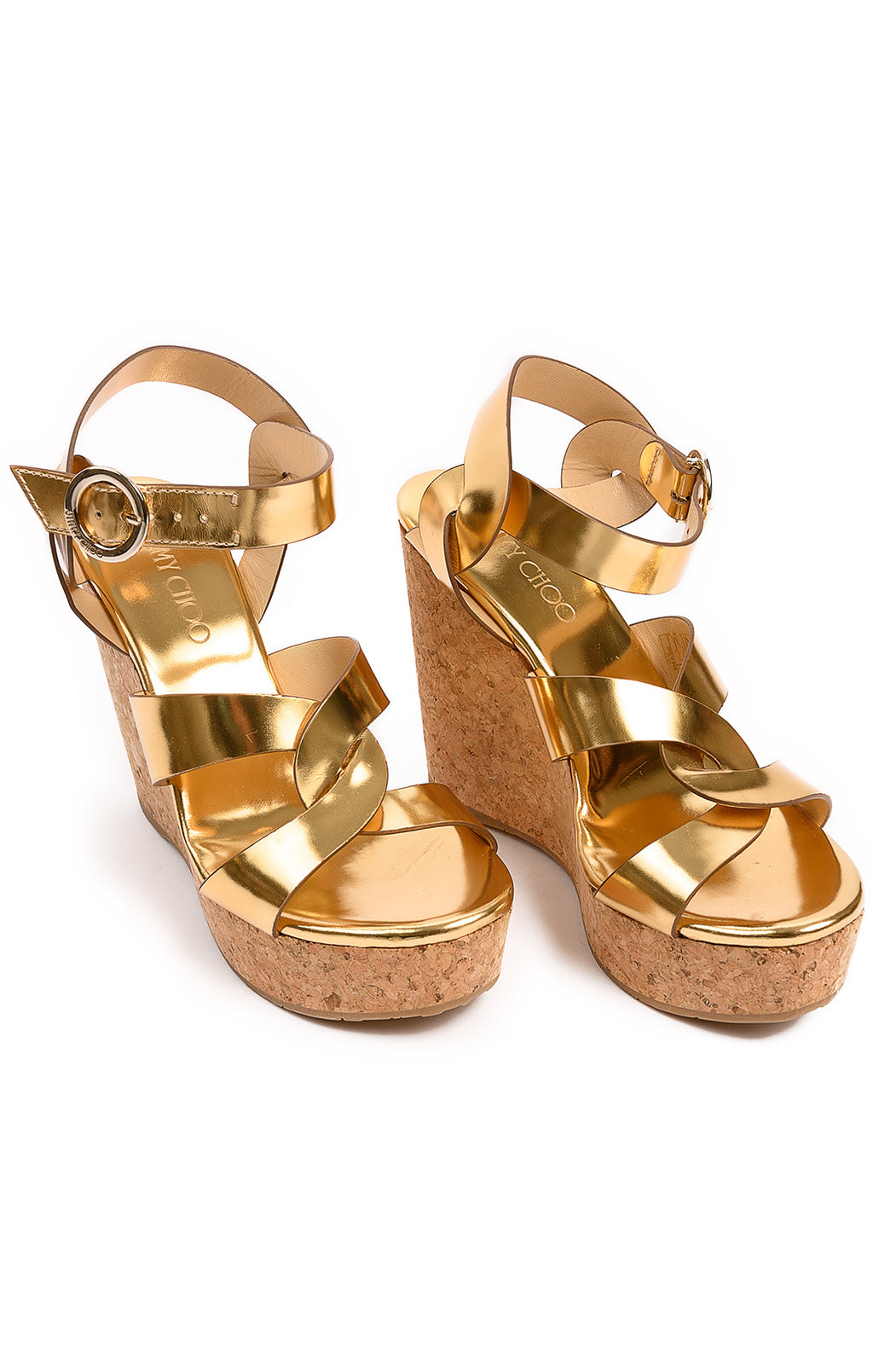 Front view of JIMMY CHOO Sandals  Size: 38.5 / 8.5
