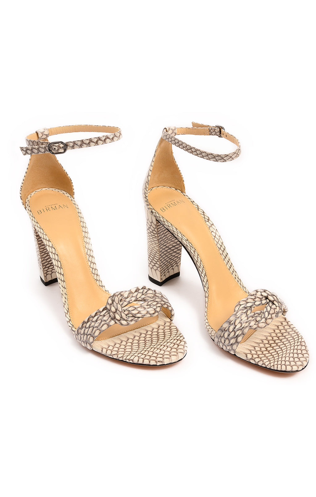 Front view of ALEXANDRE BIRMAN Sandals Size: 39/9