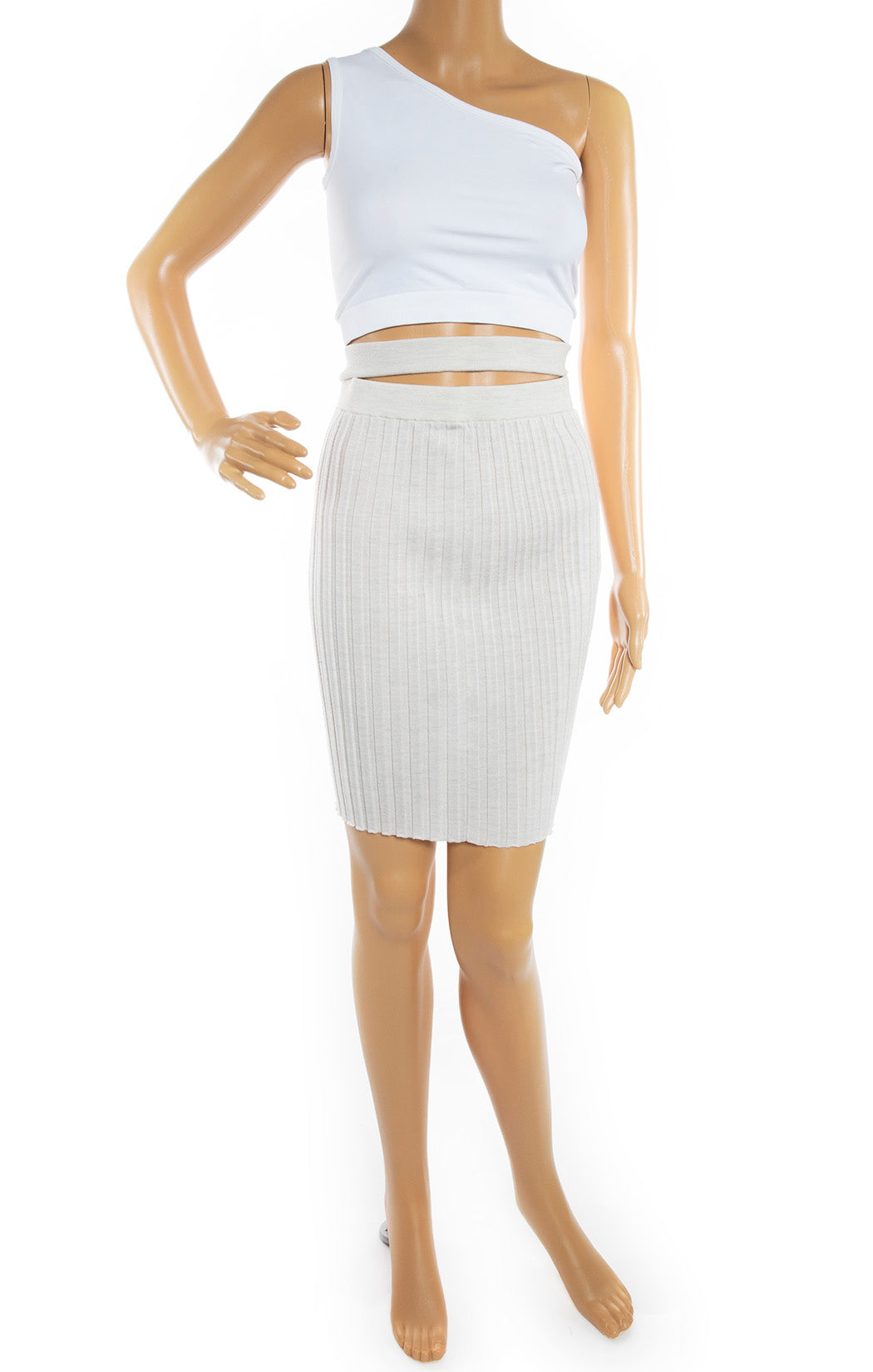 Front view of HELMUT LANG Skirt Size: No tags, fits like XS/S