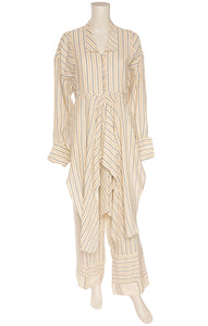 Front view of JW ANDERSON Tunic and pant Size: 8
