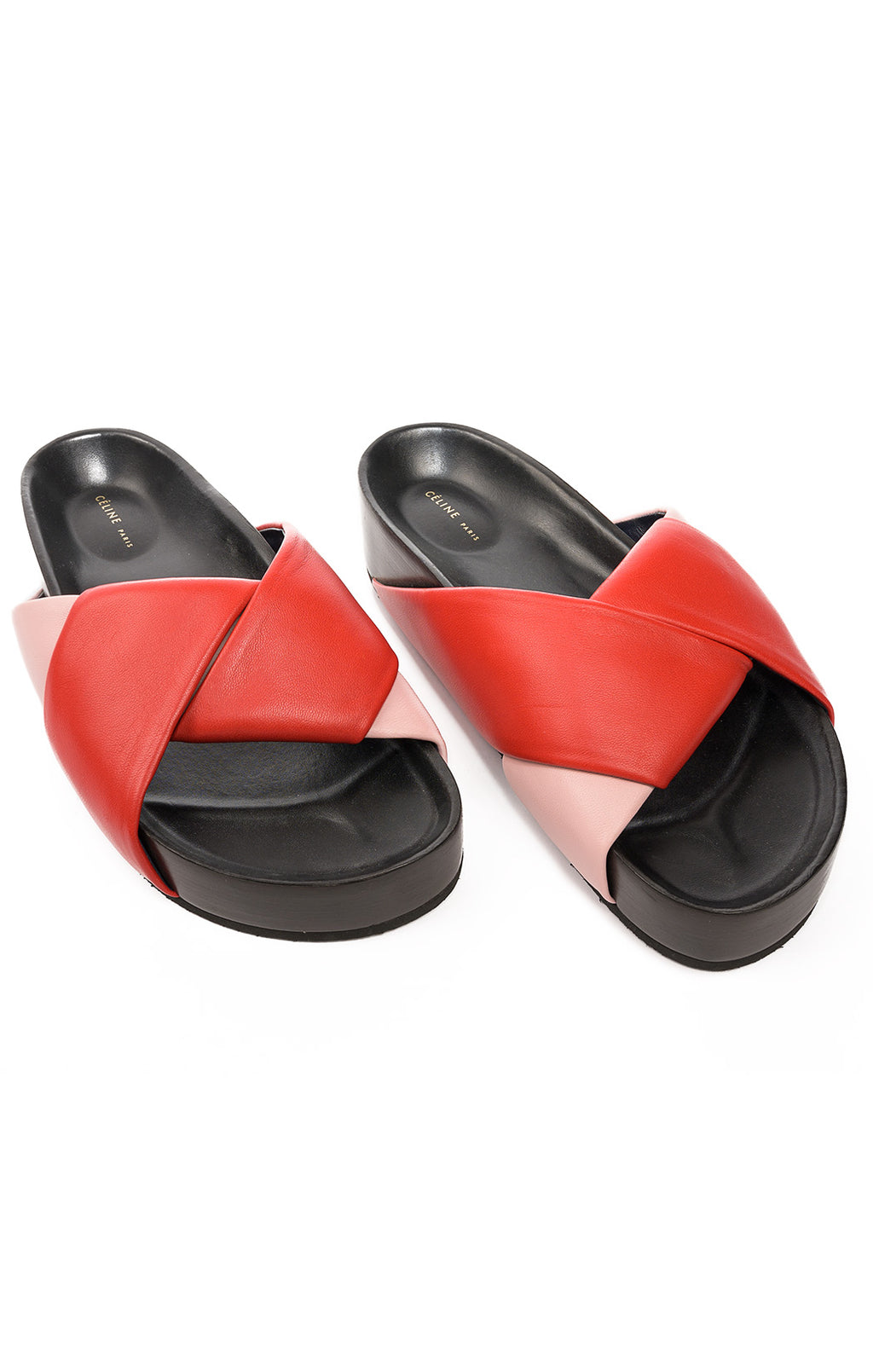 Front view of CELINE Sandals Size: 38/8