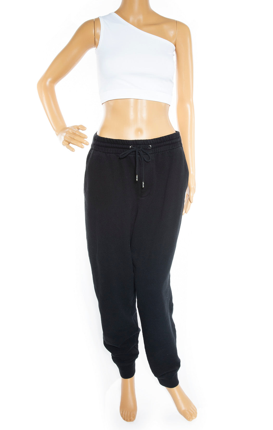 Front view of T by ALEXANDER WANG Sweatpants Size: Medium