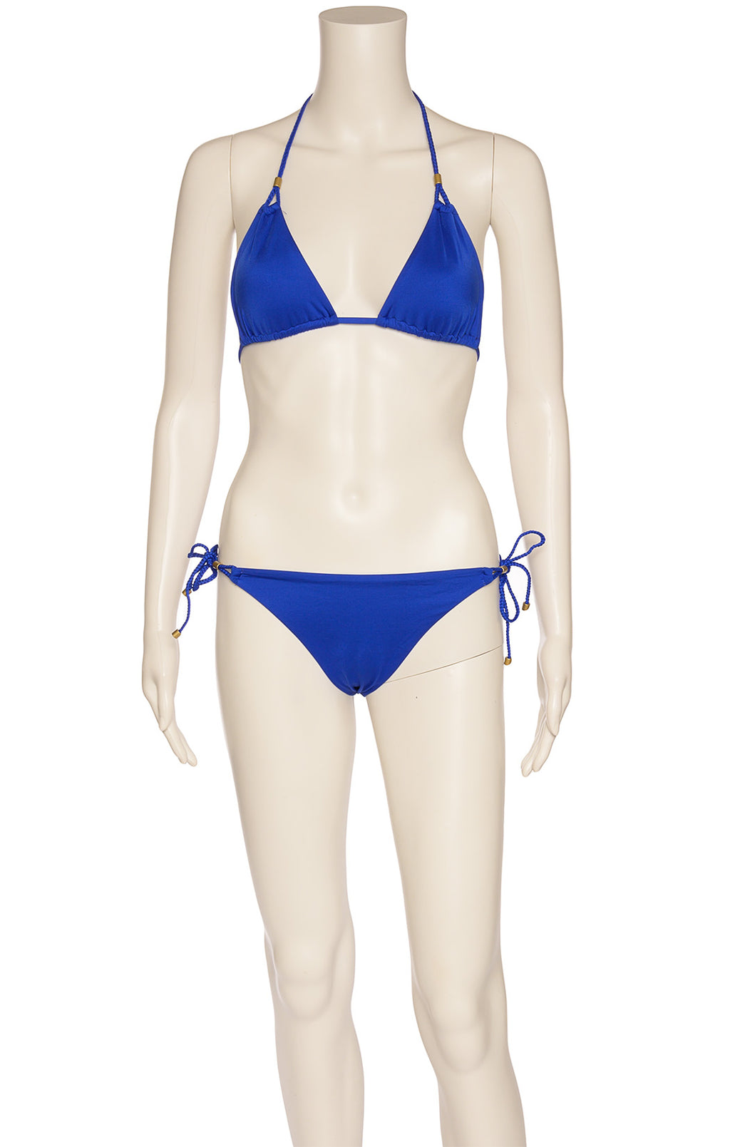Front viiew of VITAMIN A Bikini Size: No size tags fits like medium