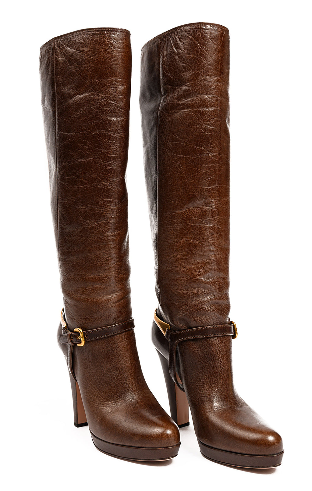 Front view of PRADA Boots Size: 39/9