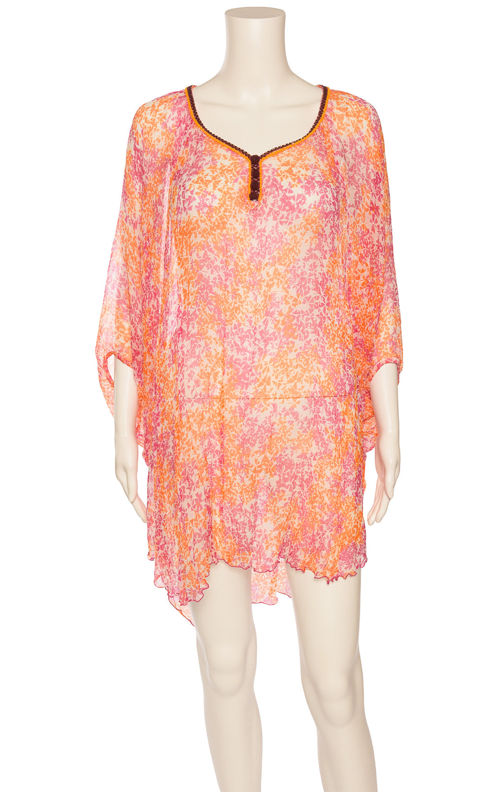 Front view of POUPETTE Top/Coverup Size: O/S