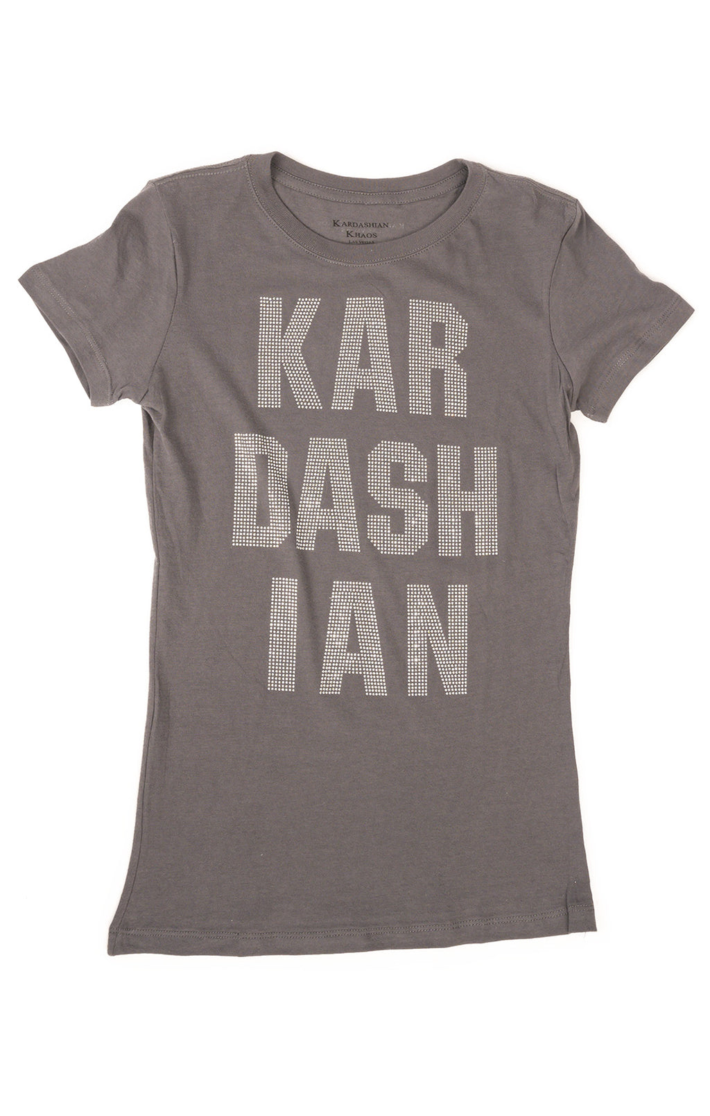 Front view of KARDASHIAN KHAOS T-Shirt Size: Medium