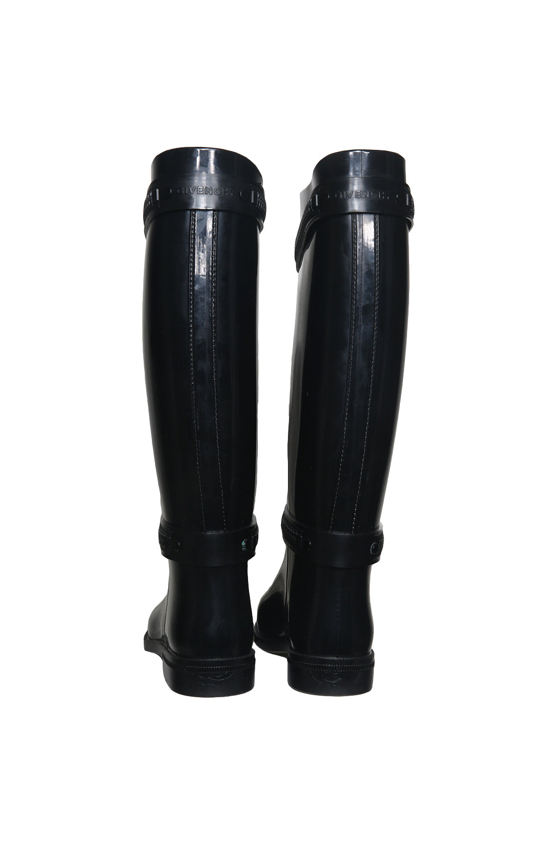 Back view of GIVENCHY Rain Boots